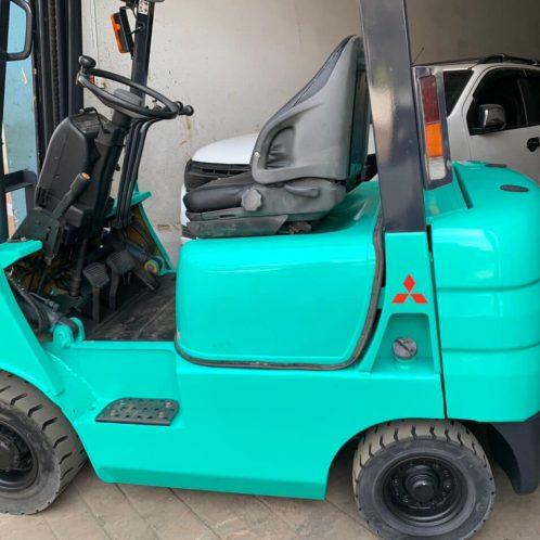 Xe nâng điện ngồi lái