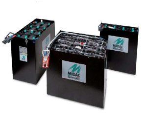 Bình ắc quy xe nâng điện Midac