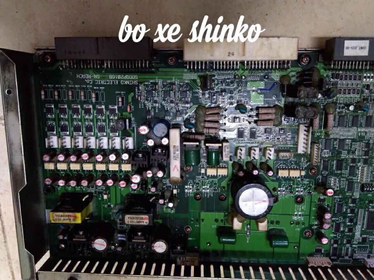 Board xe nâng điện shinco