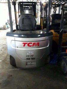 Dòng xe nâng được sản xuất tại Nhật Bản