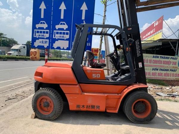 Xe nâng Toyota đã qua sử dụng tại Hưng Phát
