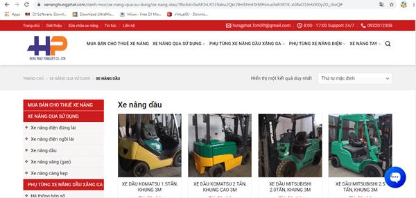 Hưng Phát vinh hạnh là một trong những địa chỉ cung cấp xe nâng dầu uy tín, chất lượng tốt tại Việt Nam
